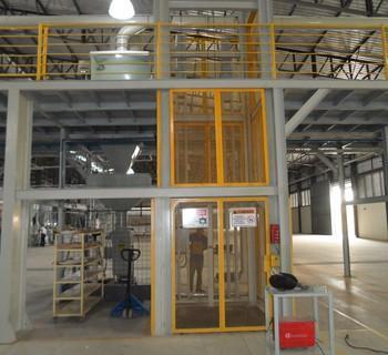 elevador industrial